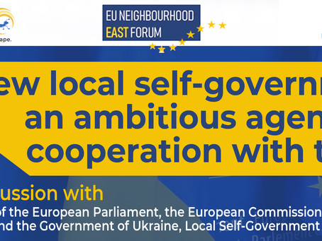 New local councils: an ambitious agenda for cooperation with the EU
