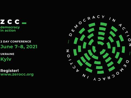Invitation to Democracy in Action: Zero Corruption Conference