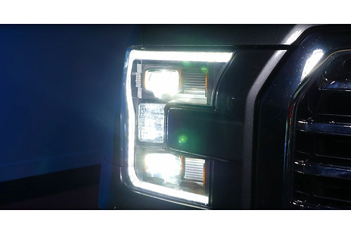 FORD F150 (15-17): XB HYBRID LED HEADLIGHTS
