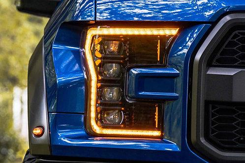 16-20 Ford Raptor Morimoto XB LED Headlights