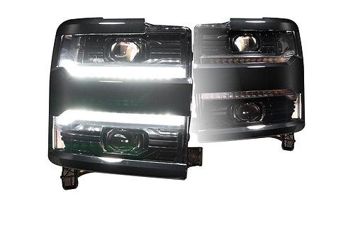 CHEVROLET SILVERADO HD (16-18): XB LED HEADLIGHTS