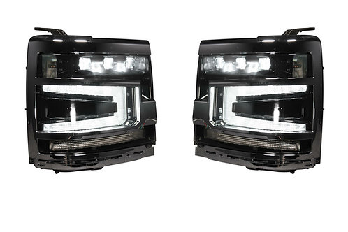 CHEVROLET SILVERADO 1500 (16-18): XB LED HEADLIGHTS