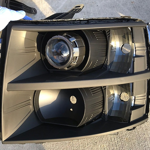 2008-2013 Chevy Silverado custom build w/ Bi-Xenon Projectors