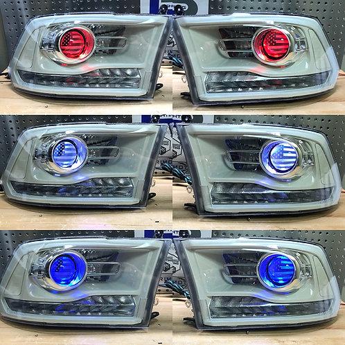 2009-2018 Dodge Ram Projector Custom Headlights