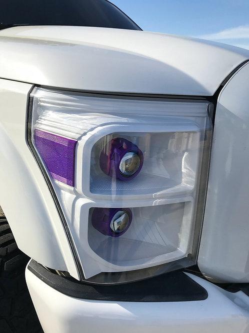 2011-2016 Ford Super Duty Custom Quad Projector headlights