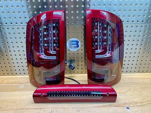 2002-2006 Dodge Ram Custom Painted Tail Lights