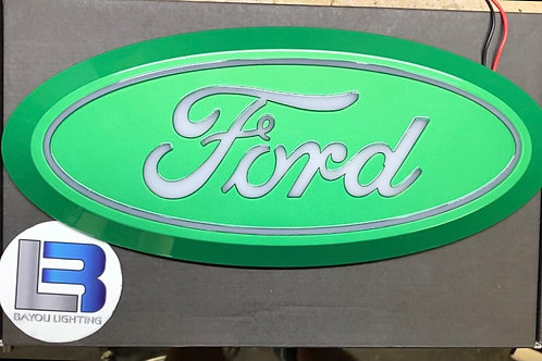 LED FORD Emblem Putco w/ startup sequence