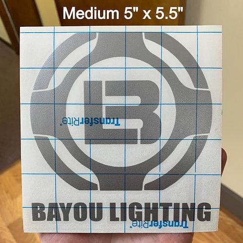 Bayou Lighting Decal