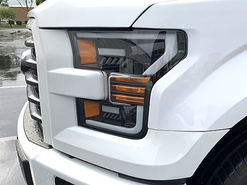 2015-2017 Ford F150 Pro Series Projector Headlights