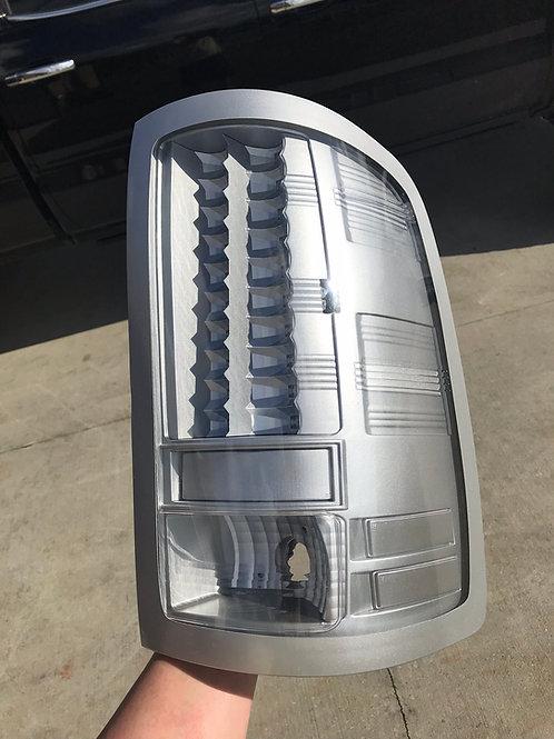2007-2013 Silverado Custom Painted LED Tail Lights