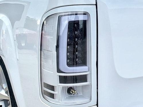 2007-2013 Silverado Custom Painted DRL LED Tail Lights