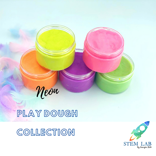Neon Play-Dough Collection