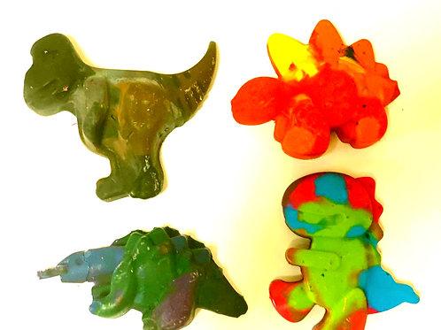 Crazy Crayons – Dinosaur Crayon Set