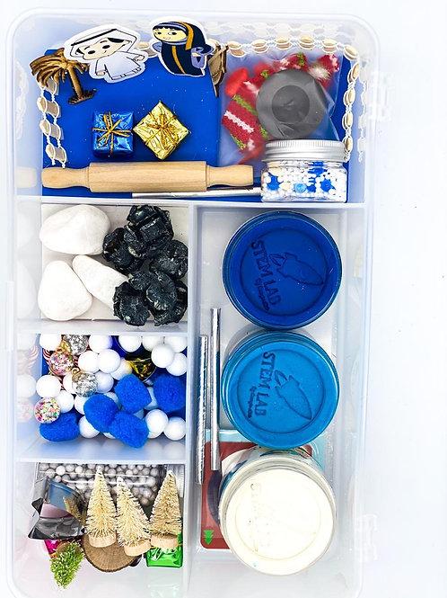 UAE Winters – Play-dough Sensory Box