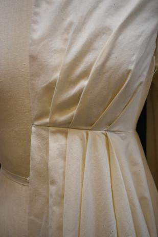 Detail: Pleats