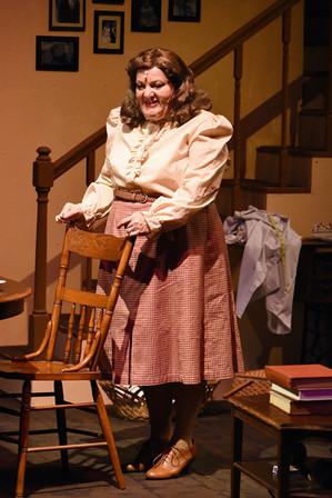 """Brighton Beach Memoirs."" Community Theatre Leage, Williamsport, PA. 2020 Director: Jonathan Hetler Costume Design: William A Young Samantha Storm as Blanche"