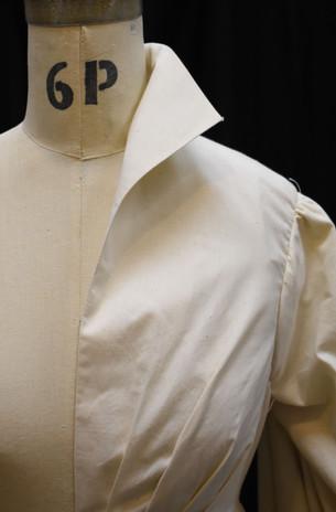 Detail: Grown-on Collar