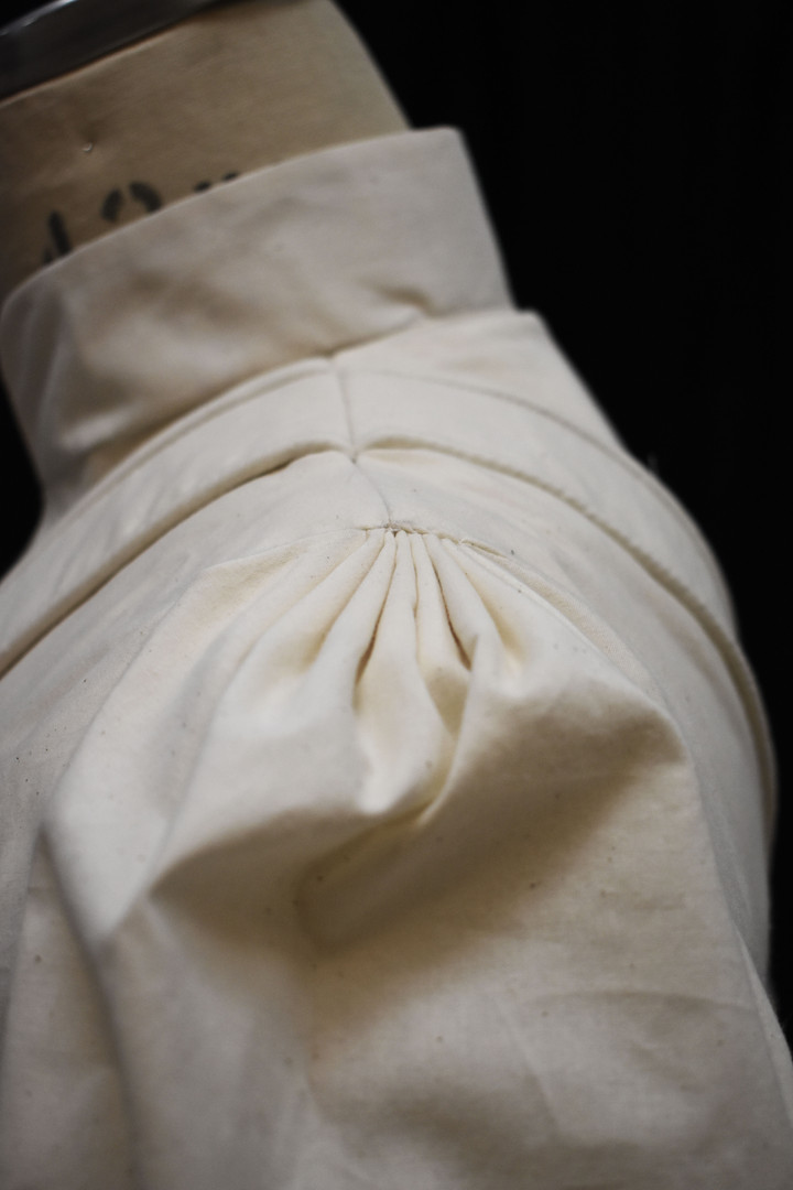 Detail: Sleeve Head, Doublet Collar