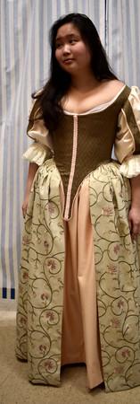 First Fashion Fabric Fitting
