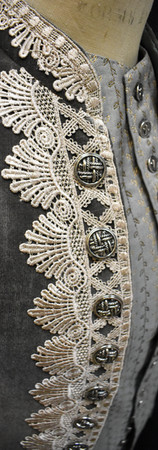 Detail: Coat Front and Buttons