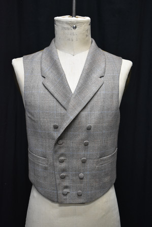 Double-breasted Vest Detail