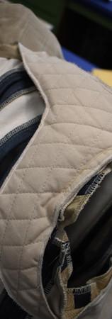 Detail: Back Shoulder Padding