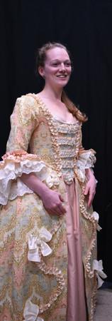Watteau-back Gown