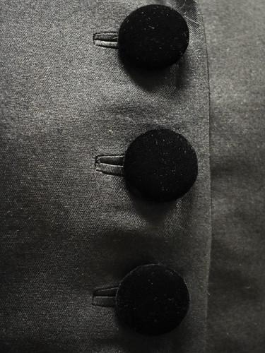 Detail: Bound Buttonholes
