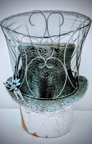 Burn-out Top Hat