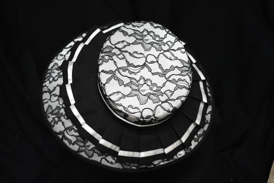 Elegant in Black and White: Top View