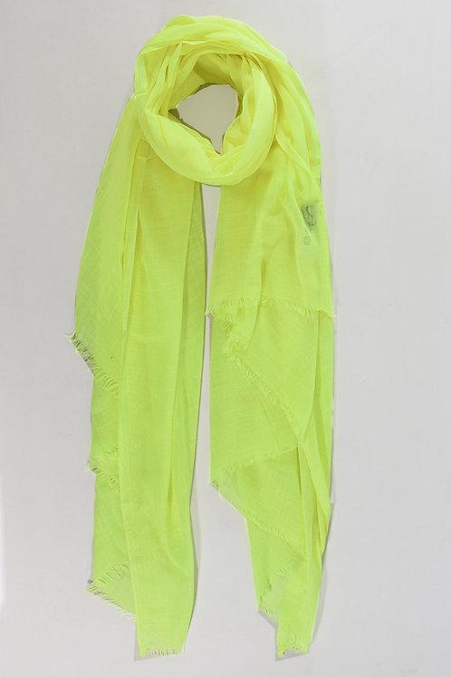 Neon Yellow Plain Woven