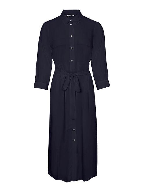 Lslv shirt dress- navy