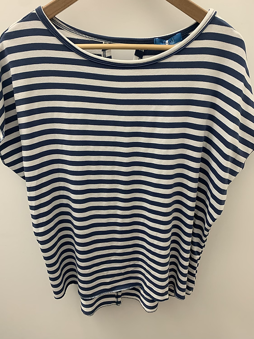 Stripe Top with back detail- cols