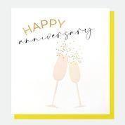 Anniversary -champ glasses