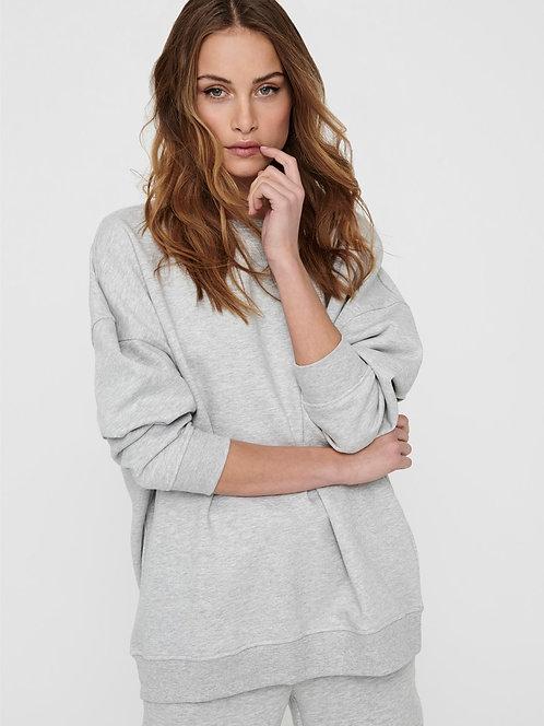 oversized sweater-grey