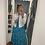 Thumbnail: Colour pop Tiered maxi dress- blue