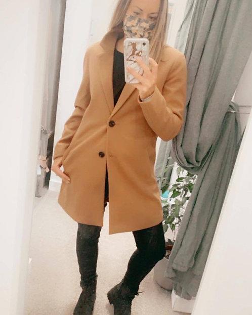 2 button blazer style coat
