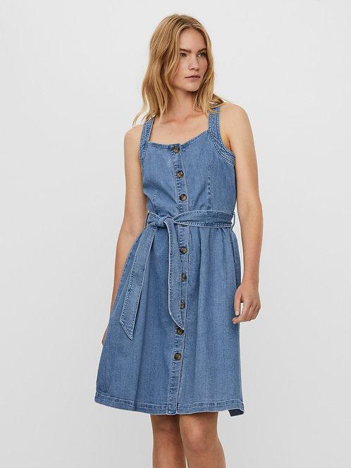 ATHENA S/L DENIM DRESS