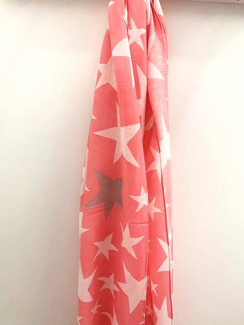 Varied star - Pink/Grey
