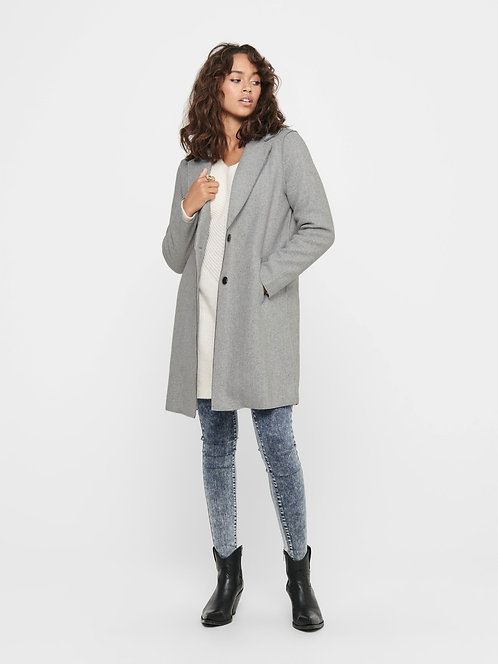 Carrie Bonded Coat - Grey