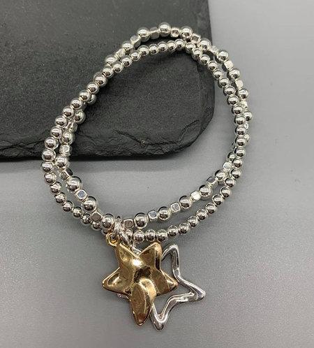 Mixed star pendent Bracelet