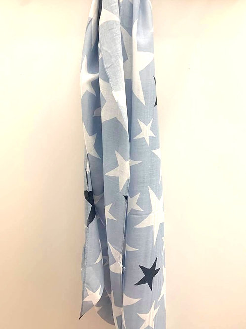Varied star -Blue and white