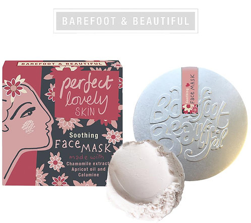 Soothing -Face masks. Barefoot and beautiful