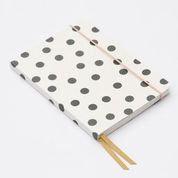 Scatter dot A5 notebook