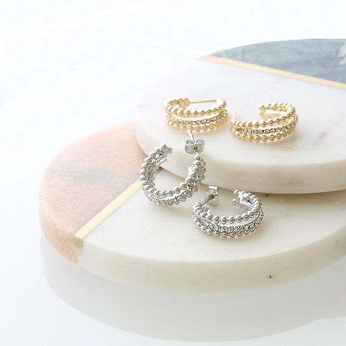 Astor ring earrings