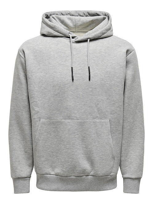 Basic solid coloured hoodie