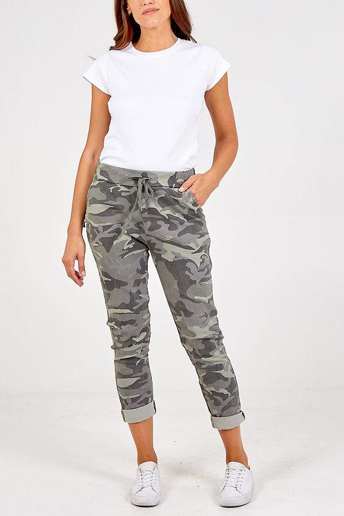 Camo Magic Trousers (cols)