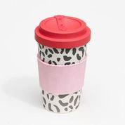 Animal print cup