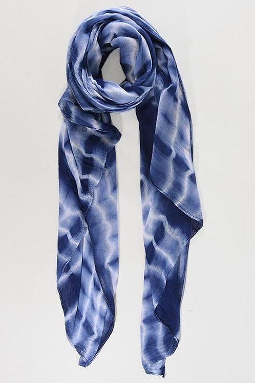 Block Tie Dye -Navy