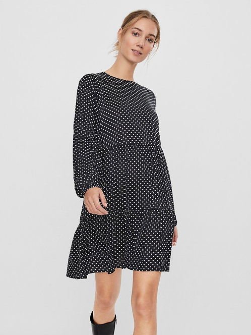 FIFI SPOTTED WOVEN DRESS